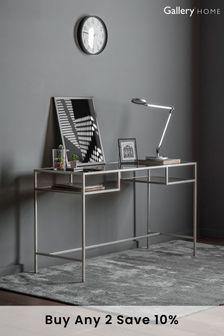 Rothbury Silver Desk By Hudson Living