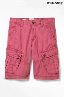 White Stuff Pink Harbour Organic Cargo Shorts
