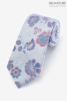 Signature Large Floral Tie
