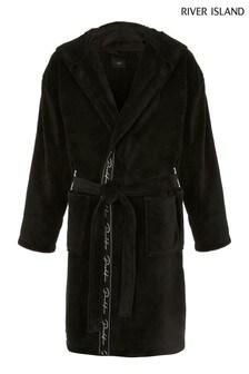 River Island Black Prolific Gown