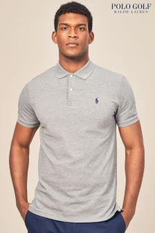 Polo Golf by Ralph Lauren Poloshirt, Stahlgrau