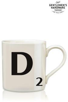 Scrabble Letter Mug