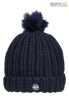 Regatta Blue Lovella II Pom Pom Hat
