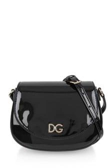 Dolce & Gabbana Kids Girls Patent Bag