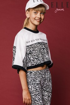 Elle Zebra Box T-Shirt