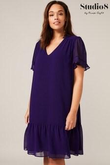 Studio 8 Purple Melanie Swing Dress