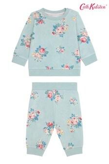 Cath Kidston® Baby Briar Rose Sweatshirt And Jogger Set