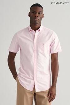 GANT Short Sleeve Button Down Regular Oxford Shirt