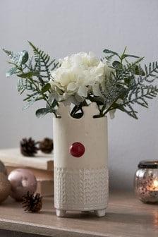 Reindeer Vase