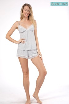 DORINA Grey Pyjama Set
