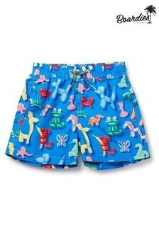Boardies Boys Balloon Animal Mid Length Swim Shorts