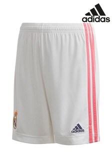 adidas Real Madrid Home 20/21 Football Shorts
