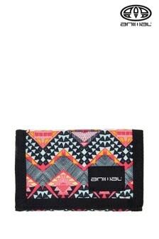 Animal Red Maitai Tri Fold Wallet