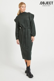 OBJECT Statement Shoulder Manni Jumper Dress
