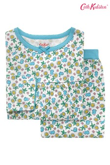 Cath Kidston Kids Petal Flowers Ditsy Long Sleeve Jersey Pyjamas