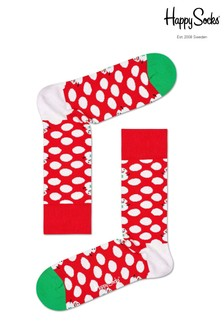 Happy Socks Big Dot Snowman Socks