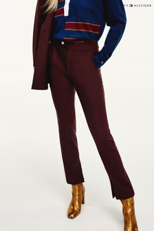 Tommy Hilfiger Red Icon Ryder Wool Trousers