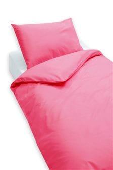 2 Pack Easy Care Plain Dye Pillowcases