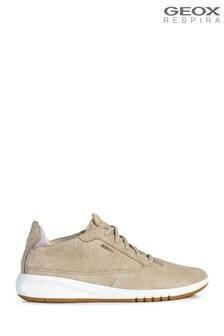 Geox Women's Aerantis Cream Shoes