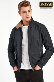Barbour® International Navy Rectifier Harrington Jacket