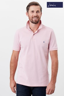 Joules Pink Woody Polo Shirt