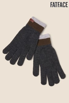 FatFace Grey Touchscreen Gloves