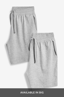 8128ccc5aca Marl Charcoal Jersey Shorts Two Pack