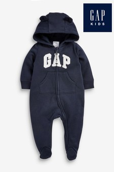 Gap Baby Logo Rompersuit with Ears