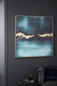 Fluid Foil Abstract Canvas