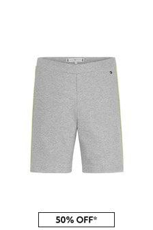Tommy Hilfiger Grey Cotton Shorts