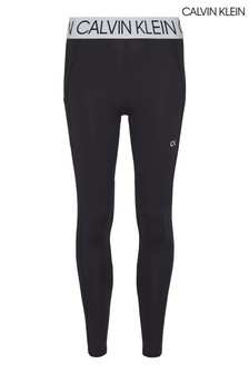 Calvin Klein Black Active Icon 7/8 Leggings