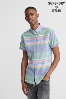 Superdry Classic East Coast Oxford Short Sleeved Shirt
