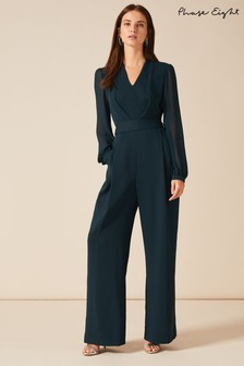 Phase Eight Green Audrey Jumpsuit
