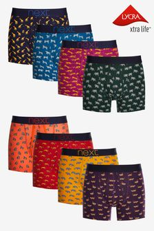 Animal Print A-Fronts Eight Pack