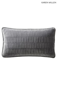 Karen Millen Velvet Pleat Cushion