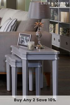 Henshaw Pale Charcoal Nest Of Tables