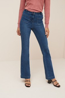 Soft Boot Cut Jeans