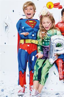 Rubies Blue Superman® Fancy Dress Costume