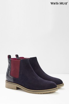 White Stuff Laney Quilted Chelsea Boots