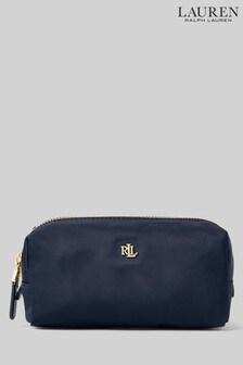 Lauren Ralph Lauren Nylon Logo Make Up Bag