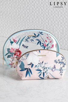 Set of 2 Lipsy Lotus Cosmetic Bags