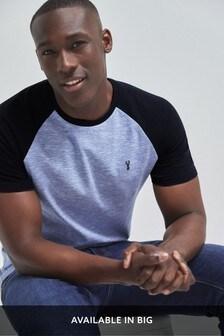 Raglan Sleeve Slim Fit T-Shirt