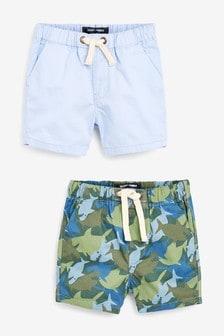 2 Pack Shorts (3mths-7yrs)