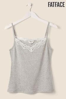 FatFace Grey Lace Vest