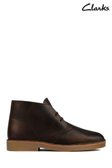 Clarks Beeswax Leather Desert Boots