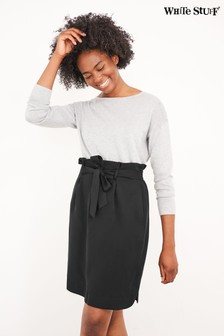 White Stuff Black Neptune Skirt