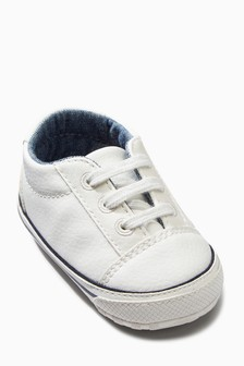 Pram Lace-Up Shoes (0-18mths)