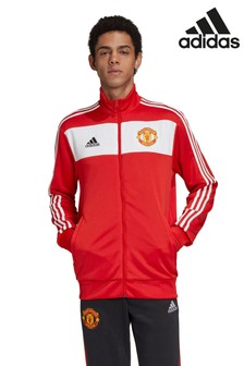 adidas Red Manchester United Track Top