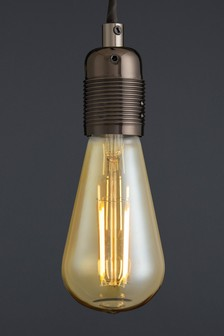 4W LED BC Retro Pear Bulb