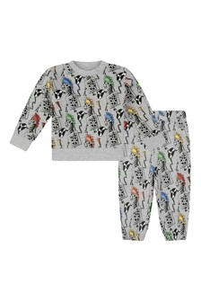Stella McCartney Kids Baby Boys Zebra DJ Fleece Tracksuit